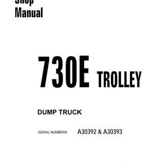 Komatsu 730E Trolley Dump Truck Service Shop Manual