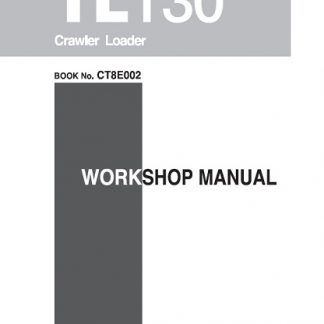 Takeuchi TL130 Crawler Loader Service Manual