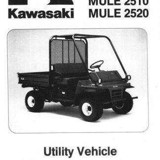 Kawasaki Mule 2510, 2520 Service Manual