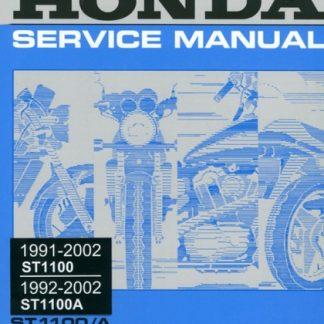 Honda ST1100 ST1100A 1991-2002 Service Manual
